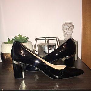 Fun black heels